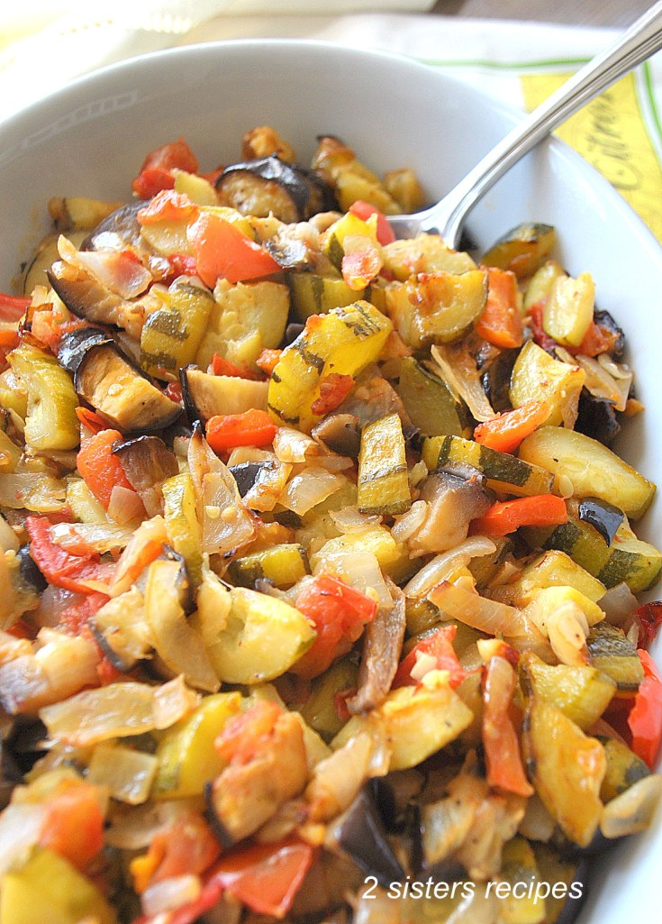 Baked Ratatouille by 2sistersrecipes.com