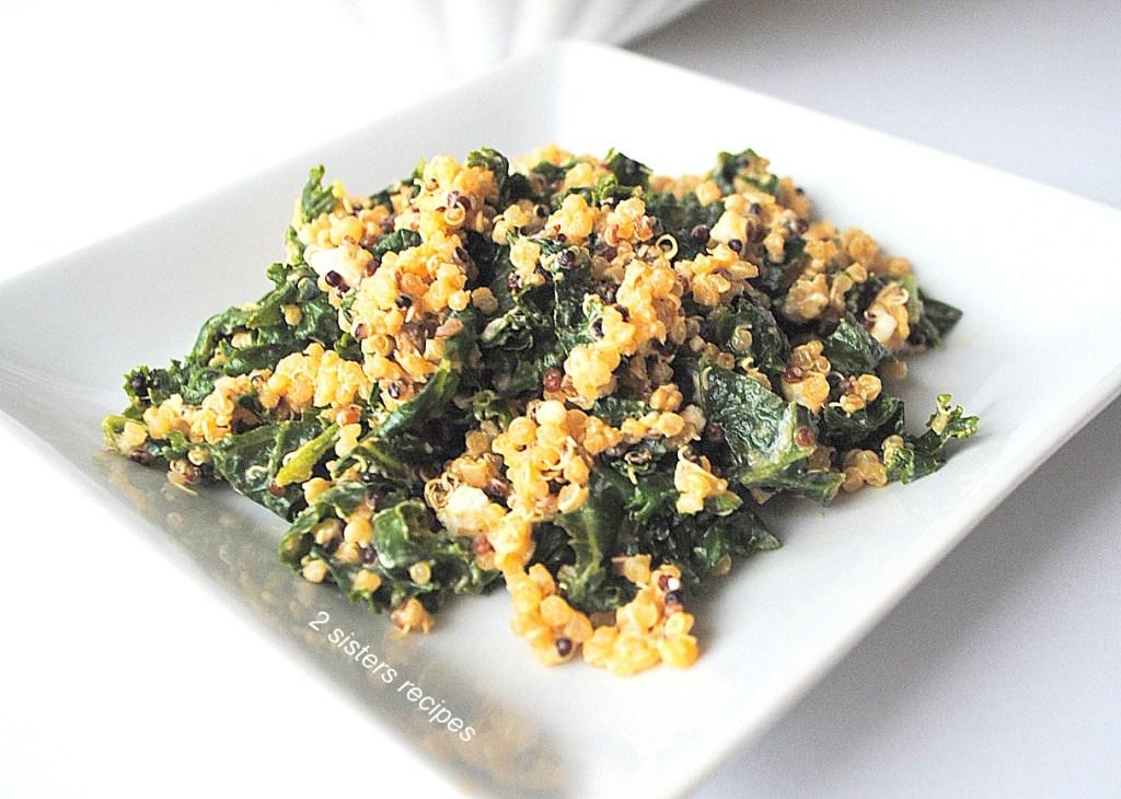 Kale and Quinoa Salad by 2sistersrecipes.com