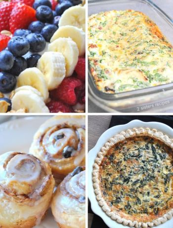 Christmas Brunch Recipes by 2sistersrecipes.com