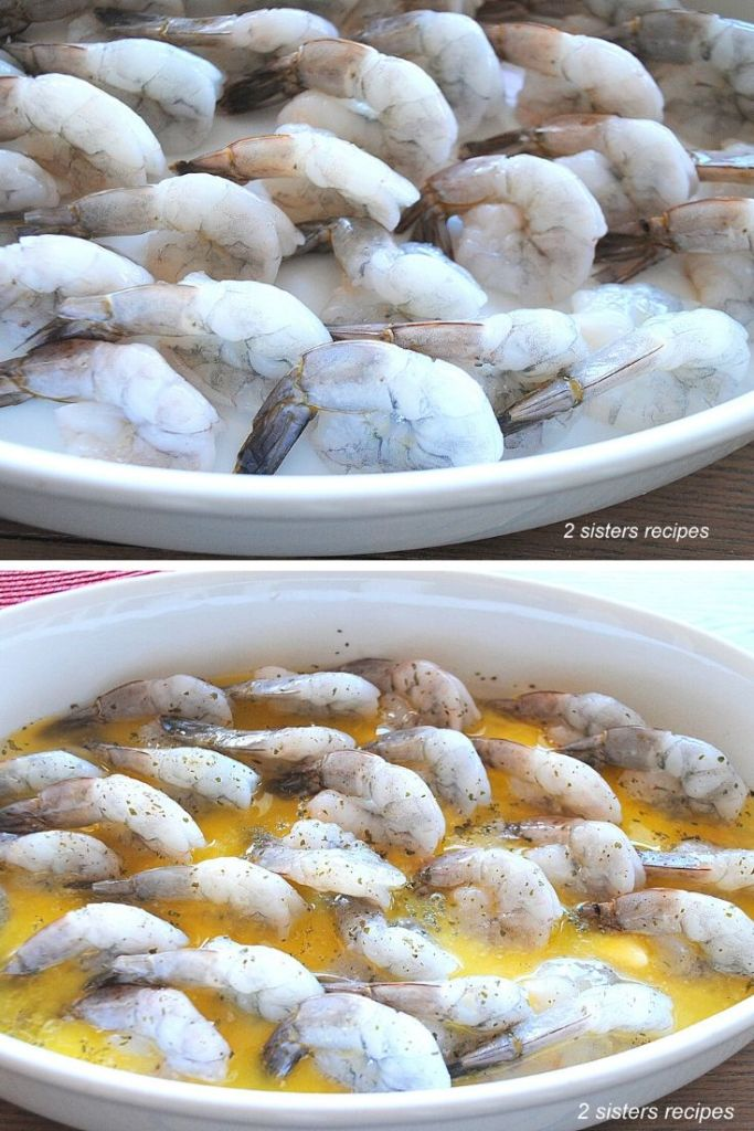 Easy Baked Shrimp Scampi Dinner by 2sistersrecipes.com