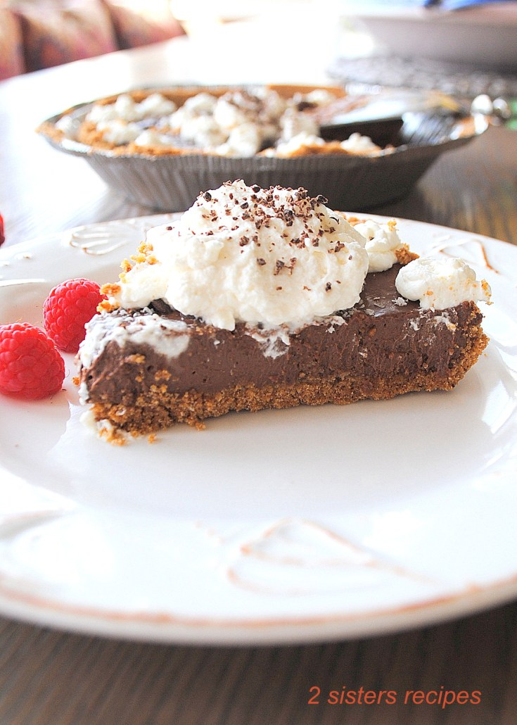 Silky Chocolate Cream Pie - Dairy Free!