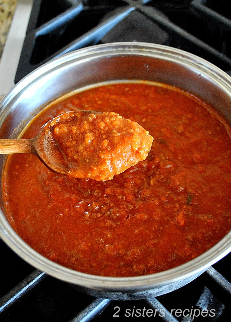 Mom's Classic Bolognese Sauce by 2sistersrecipes.com