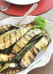 How to Grill Zucchini Perfectly by 2sistersrecipes.com