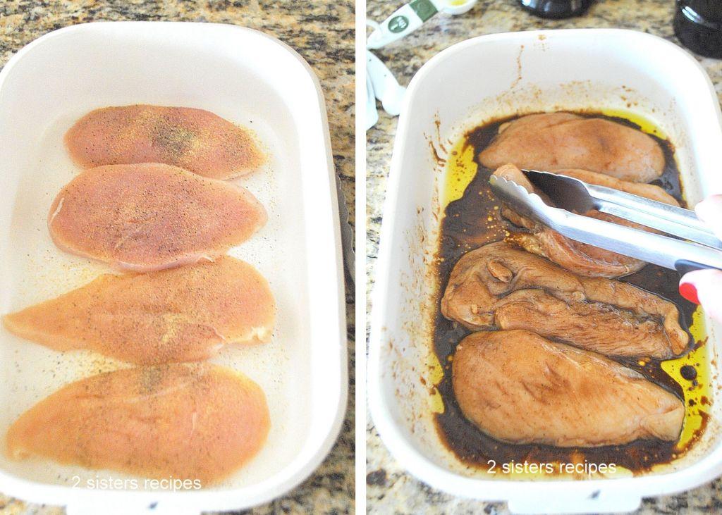 Grilled Balsamic Chicken Salad