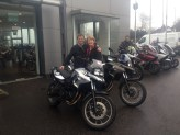 Just put a deposit down on those 2 fully optioned up demo BMW F700GS bikes