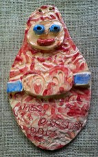 Russian Doll Hanging Tile