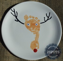 A footprint plate for Rudolph