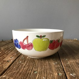 Hen Party Hand-Drawn Fruit Bowl