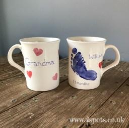 Hearty Footprint Mug