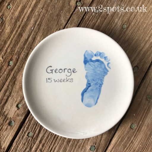 Keepsake painted plate