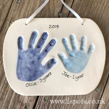 Clay imprint