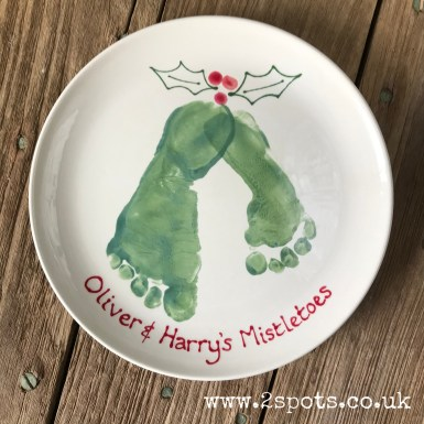 Brother Mistletoes Plate