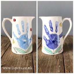 Handprint Jug