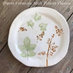Nature printed plate