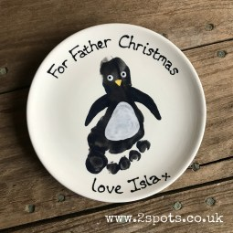 Penguin Footprint Plate