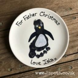 Penguin Footprint Plate