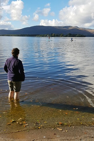 Carefree identity in Loch Lomond