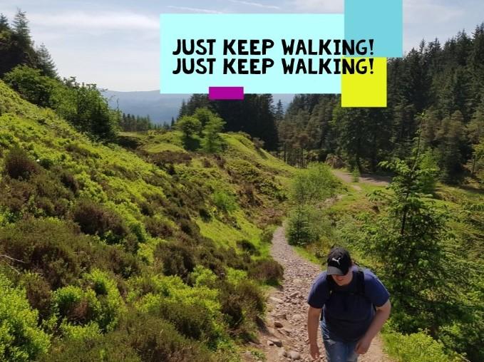 Just keep walking, just keep walking!