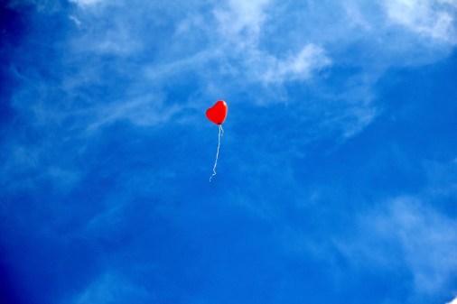 heart balloon single
