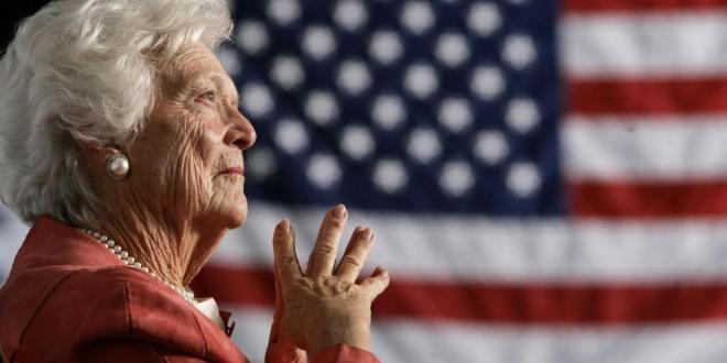 mort de l'ancienne première dame, Barbara Bush