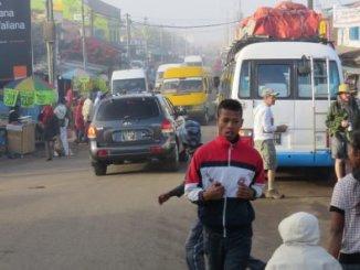 Dans les rues d'Antananarivo