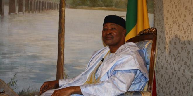 Le président malien Amadou Toumani Touré © D.Michaud