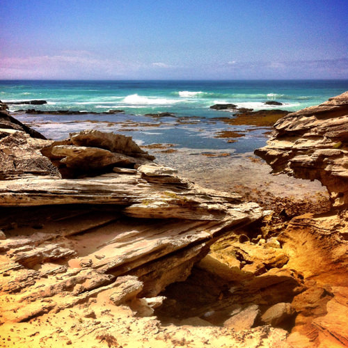 beach rocks instagram