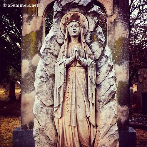 Ornate statue