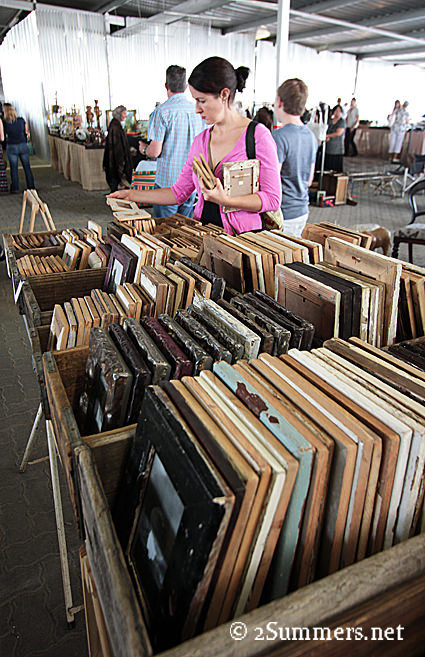 Rosebank - Finders Keepers Market frames