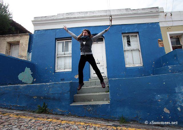 Bo Kaap jump