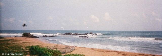 Cape 3 Points beach