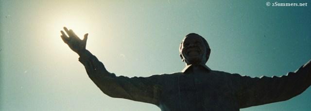 Mandela statue small
