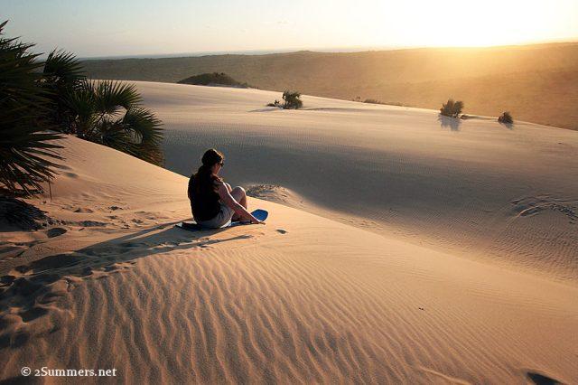 Dune boarding1