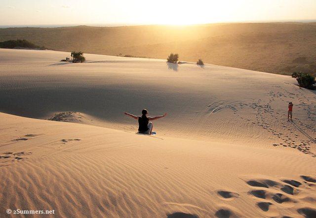 Dune boarding2