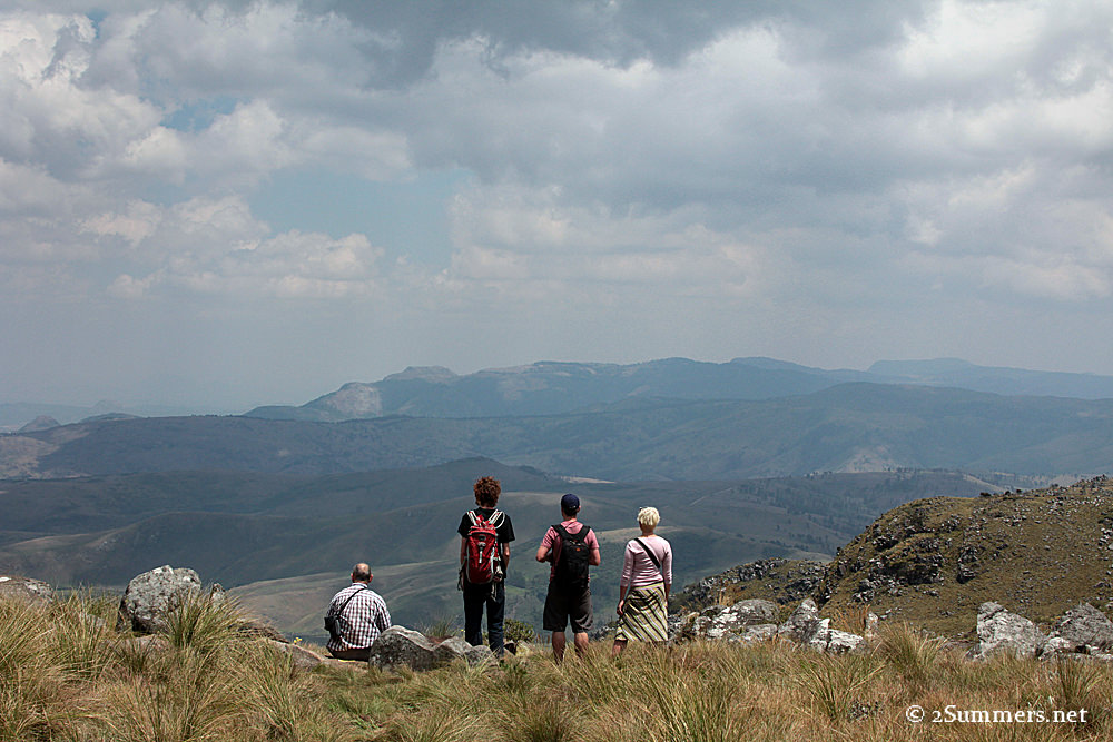 Nyangani hikers