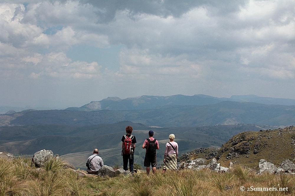 Nyangani hikers