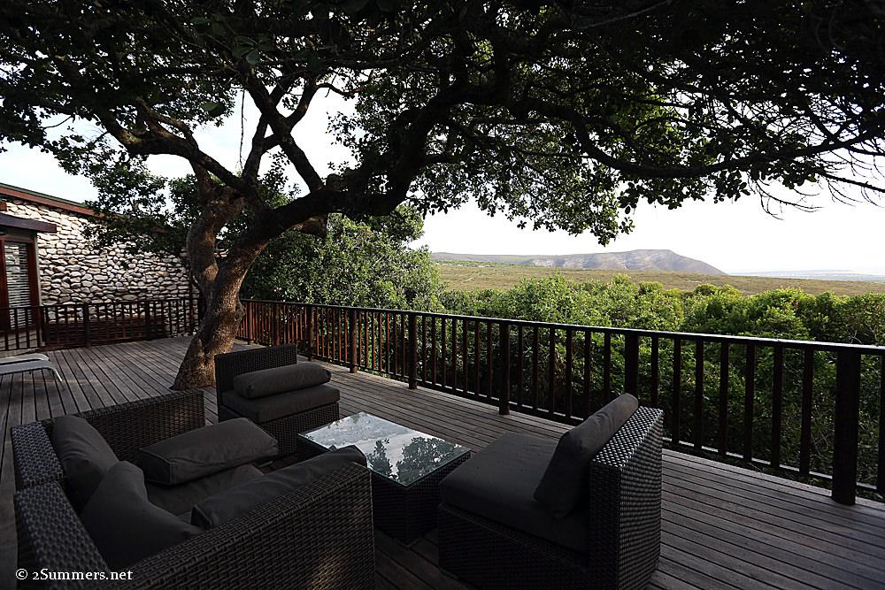 Grootbos deck view