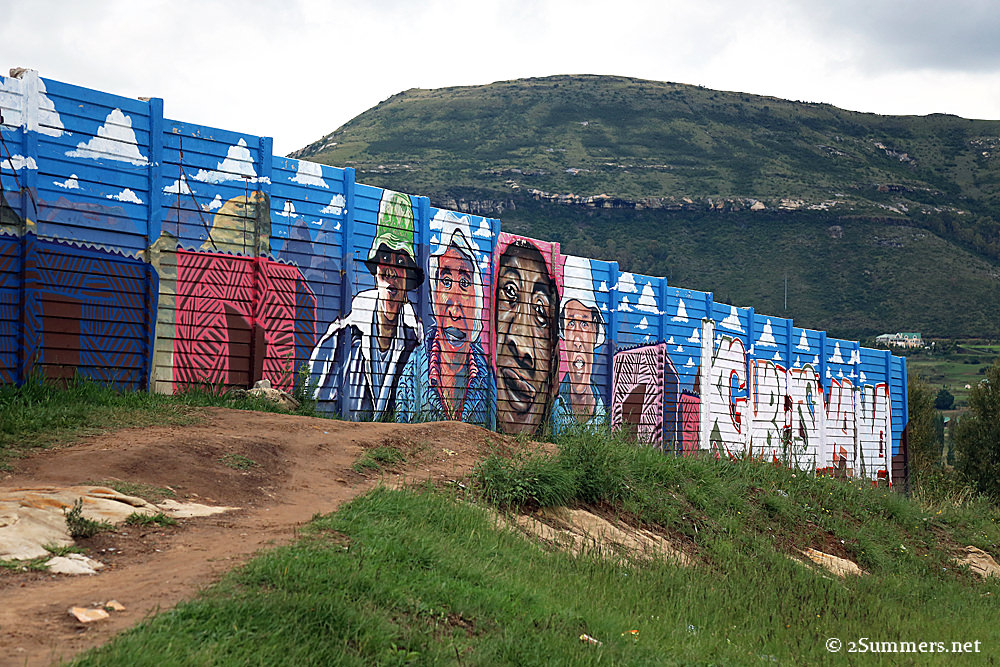 Clarens wall