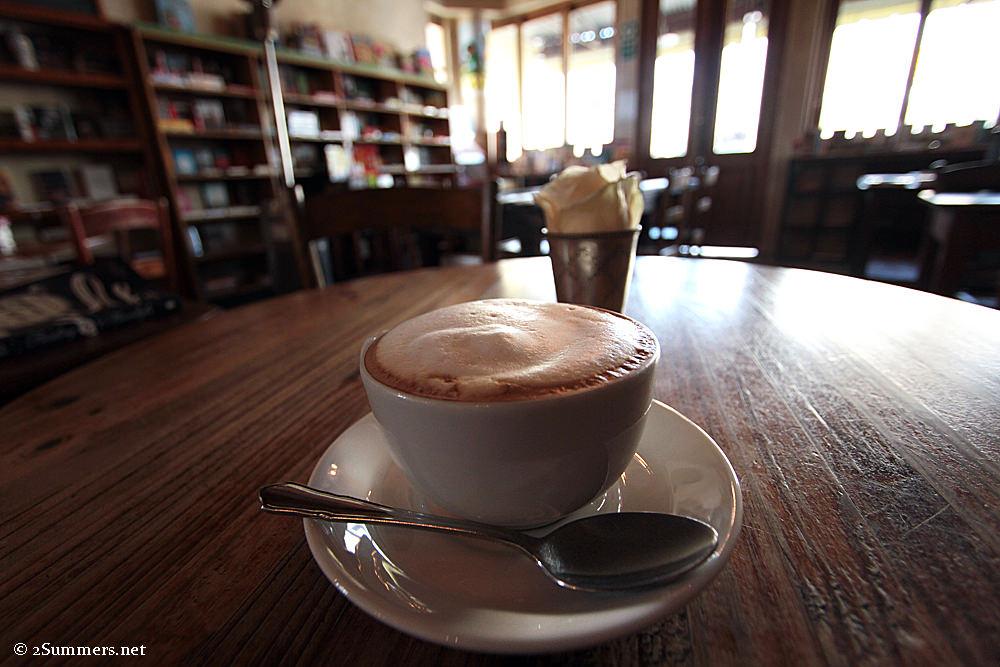 Nice restaurant coffee