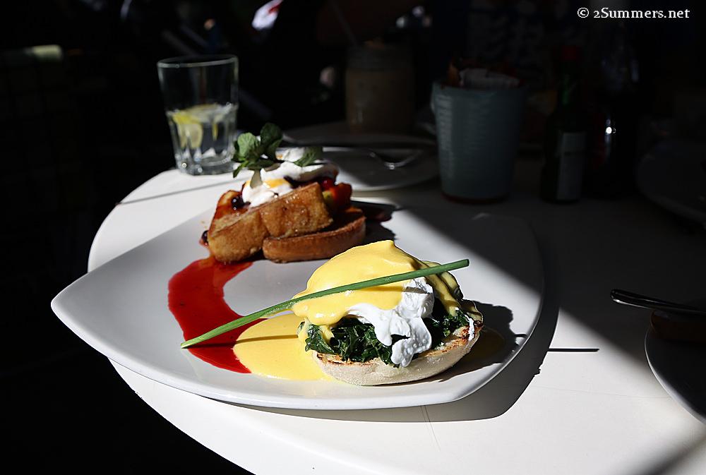 Salvation Cafe breakfast