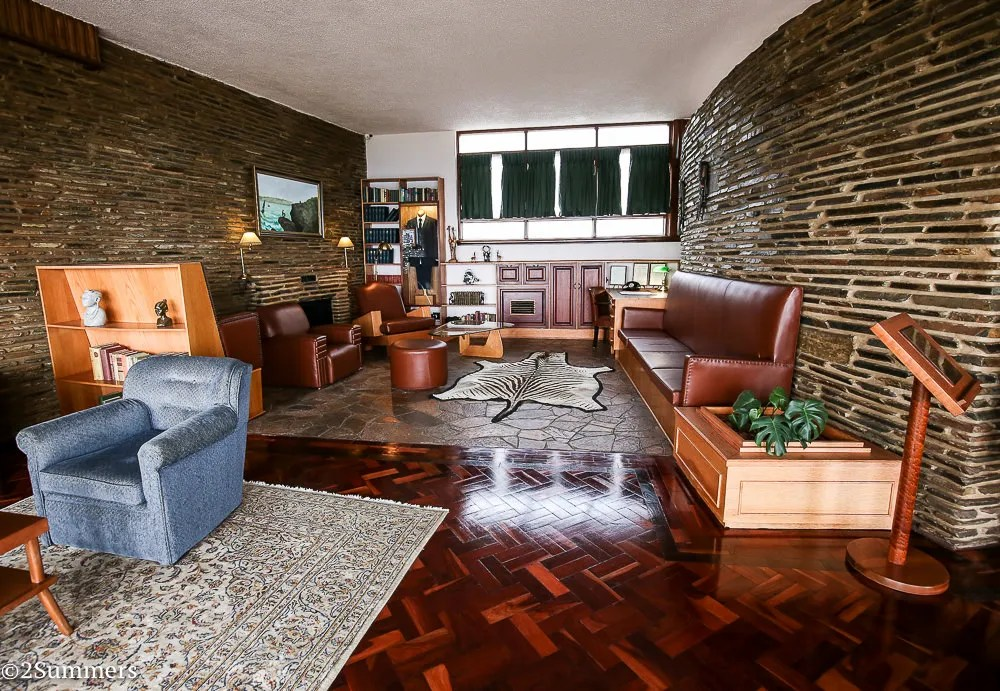 Lounge of the L. Ron Hubbard House, Johannesburg