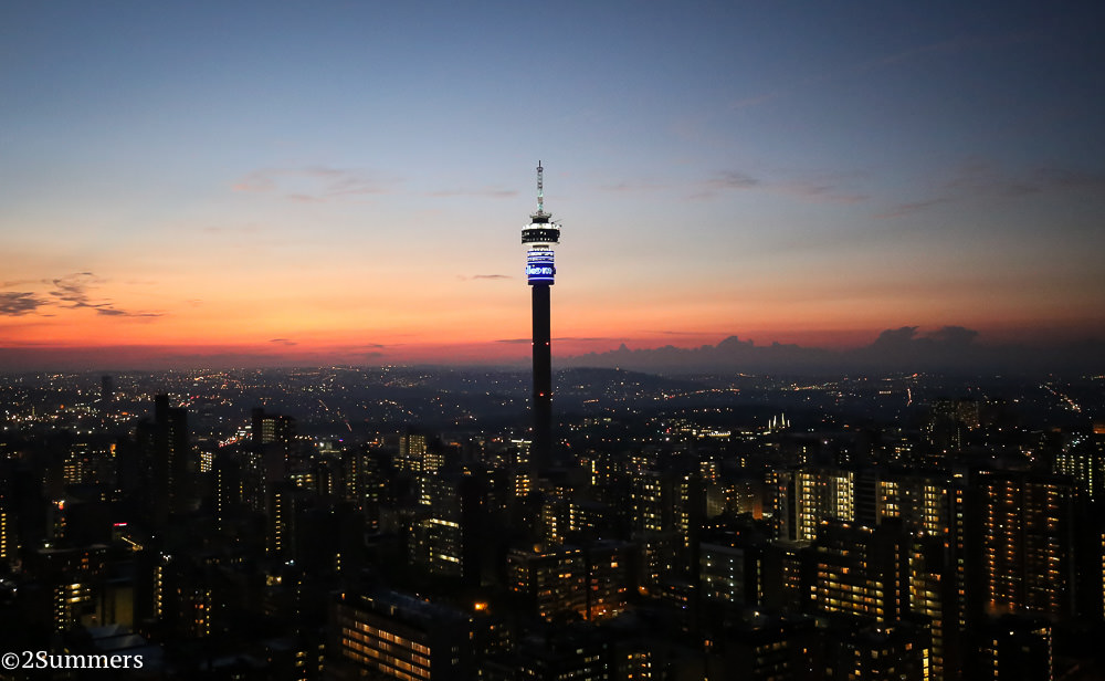 My 10 favorite shots of the joburg skyline 2summers hillbrow from the top of ponte city thecheapjerseys Choice Image