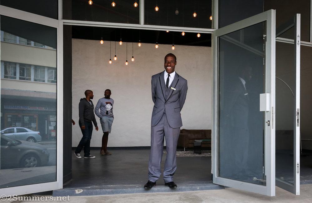 Doorman at one eloff