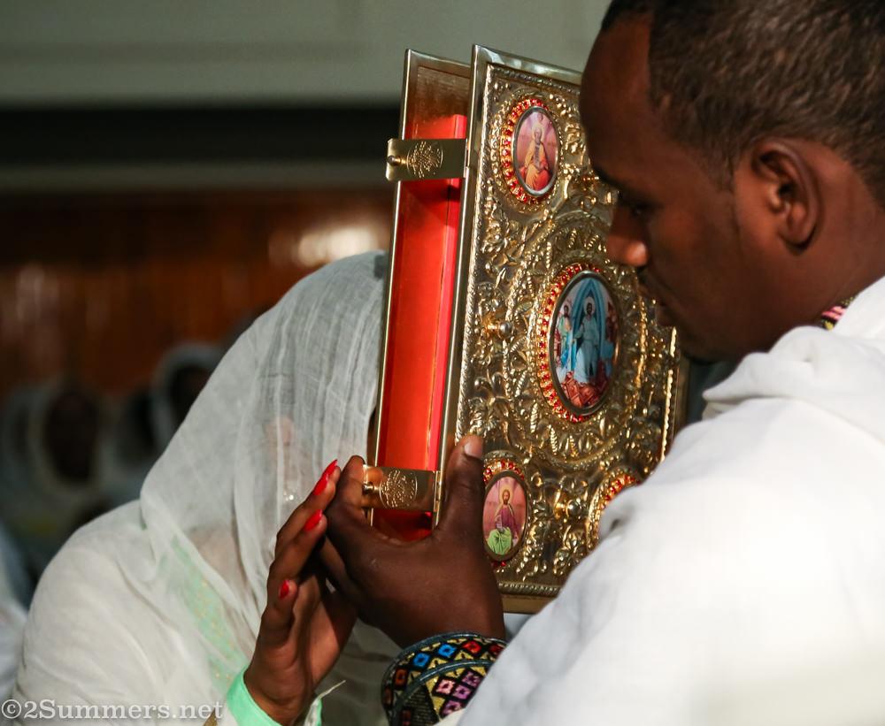 Giant bible