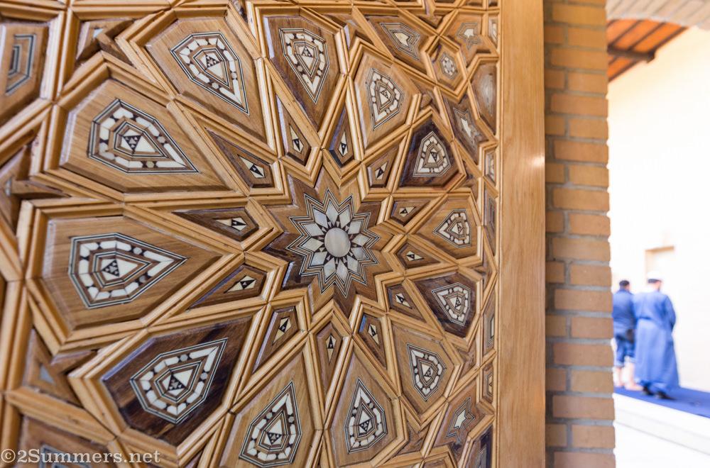Northcliff Jummah Musjid wood carving