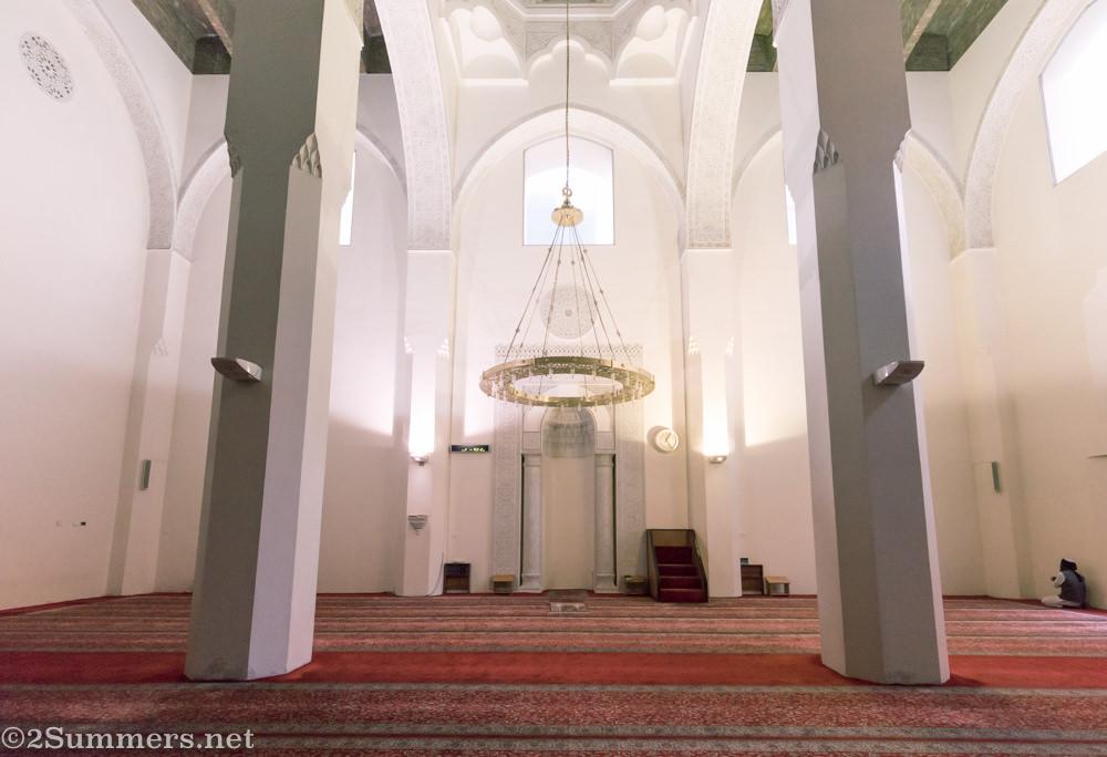 Inside the Kerk Street Mosque