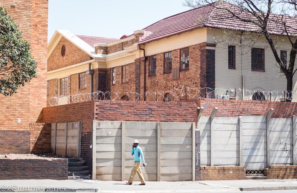 Outside the Bantu Men's Social Centre