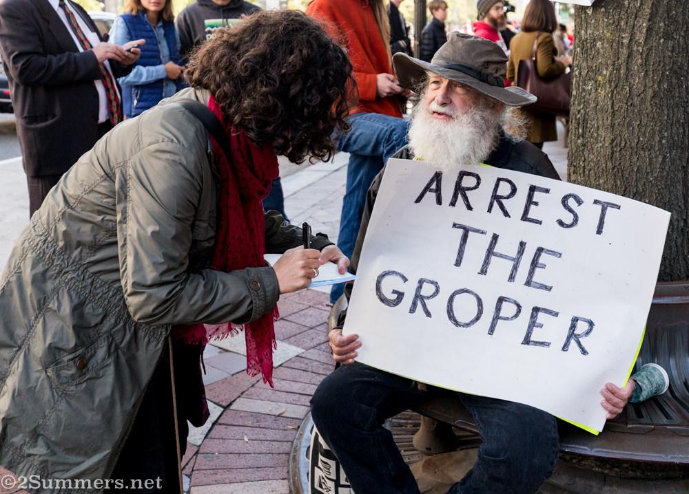 Arrest the Groper
