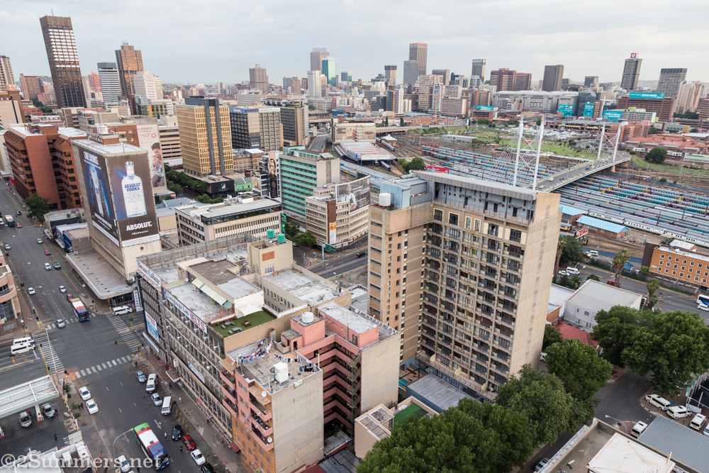 View of Braamfontein from Randlords