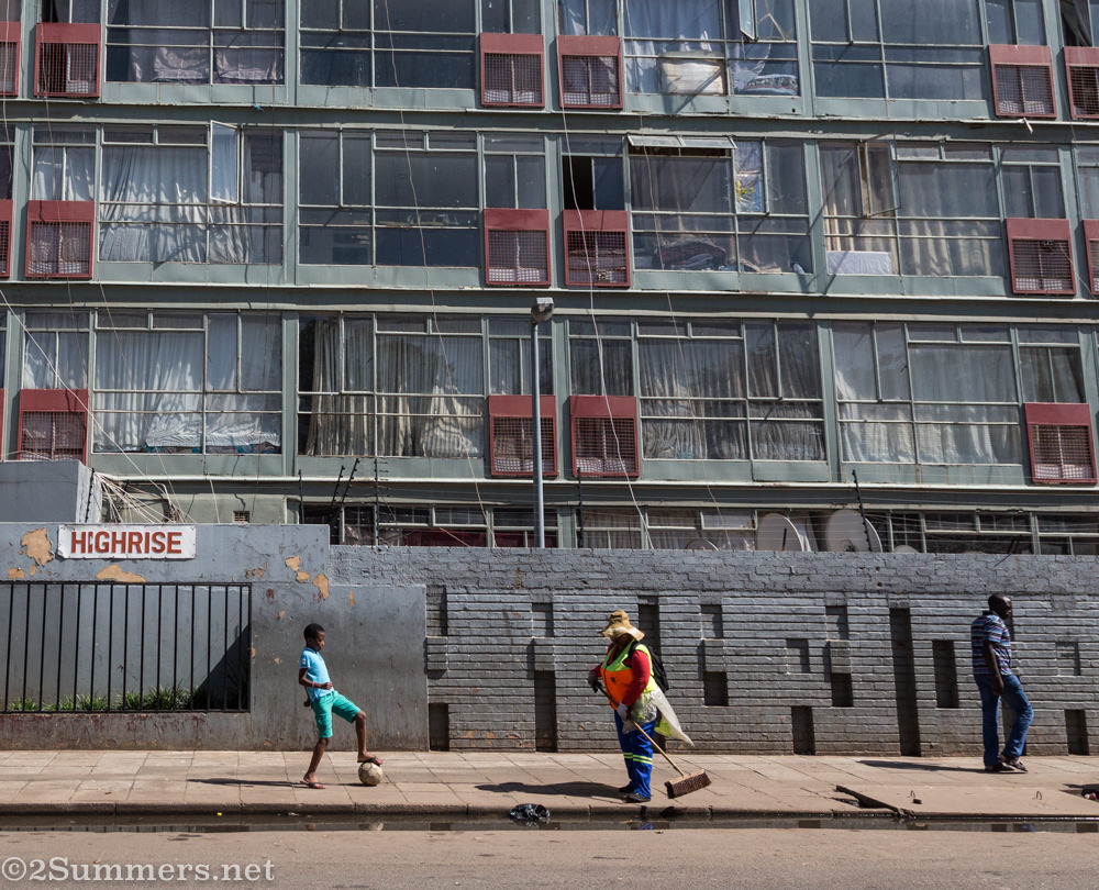 Building in Hillbrow